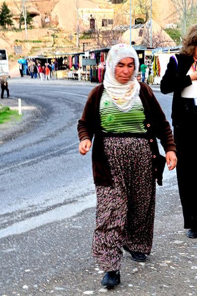Typical Turkey women's costume.