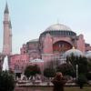 Hagia Sophia photo taken from the Hippodrome area.