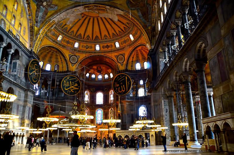 Byzantine Architecture Interior