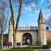 The entrance to Topkapi Palace complex called the Imperial Gate.