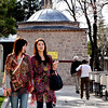 "What these women are wearing, the ""see-through"" fabric with Turkish prints are popular to tourists."
