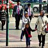 A street scene in downtown Konya.