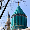 A closer look at the green Dome.
