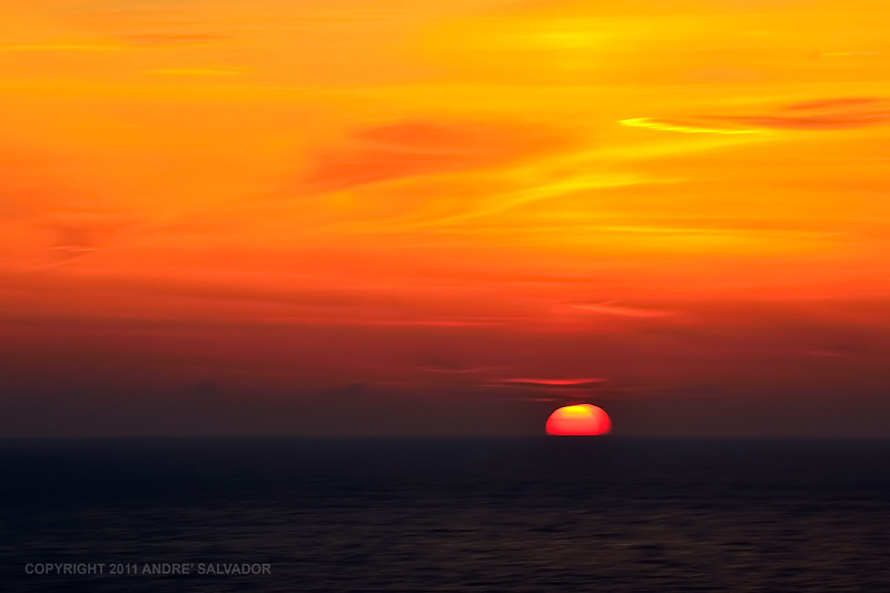 Sunset at the Aegean Sea. One of the best sunset pictures I have taken in this trip to Turkey.