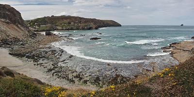 Trevellas Cove panorama