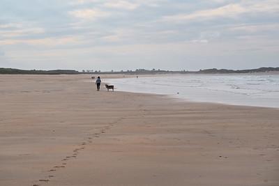 Beadnell Bay, Few tourists