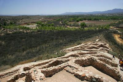 Tuzigoot National Monument is the ruins of an ancient native American village near Sedona.