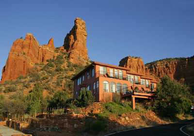 Our B&B in Oak Creek, just south of Sedona.