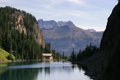 Lake Agnes Tea House.