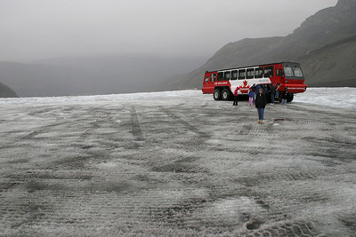 Touring the Columbia Glacier.