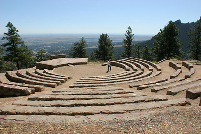 Another view of the Sunrise Amphitheater.