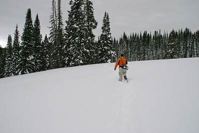 Snow shoe outing, Rabbit Ears Pass.