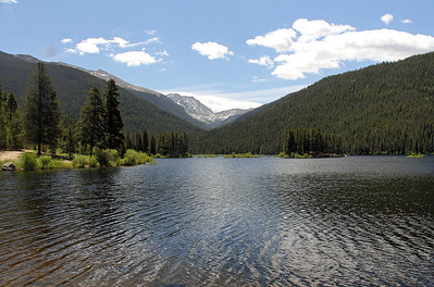 Monarch Lake.  We took the 3.9 mile hike around it.