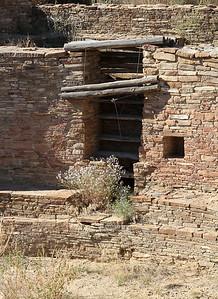 An entrance to the Great Kiva of Chetro Ketl.