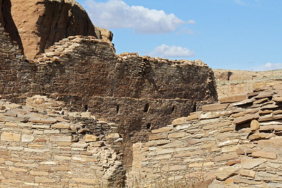 Most of the Chacoan ruins were multi-story structures.