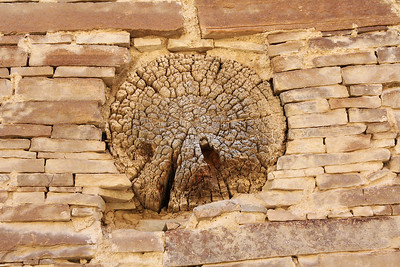 A roofing beam, about 800-900 years old.