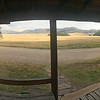 """<span style=""""color:yellow;""""> An iPhone panorama of Longmire's view from his front porch.  </span>"""