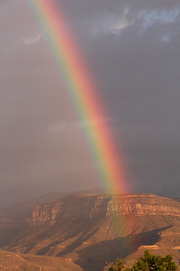 Rainbow over Alamogordo.