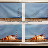 """<span style=""""color:yellow;""""> Many photos and small missiles are on display in the museum at the White Sands Missile Range near Las Cruces, about 45 miles southwest of the WS National Monument.   </span>"""