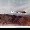 """<span style=""""color:yellow;""""> An inflight photo of a cruise missile over the WSMR.  </span>"""