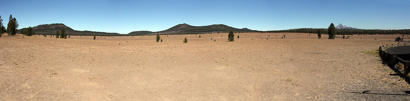The Pumice Desert a few miles north of Crater Lake.