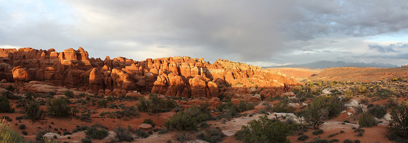 The Fiery Furnace gets its name from how it appears in the warm light of sunset.