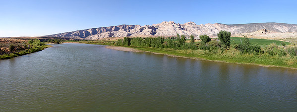 Taken while standing on the bridge which crosses the Green River southeast of our campground.