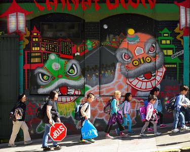 Children after School, Chinatown, San Francisco