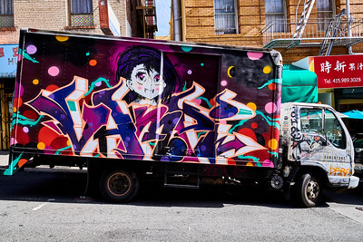 Chinatown - Mural on Truck
