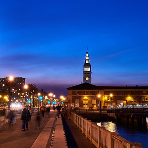 Ferry Building at Twilight