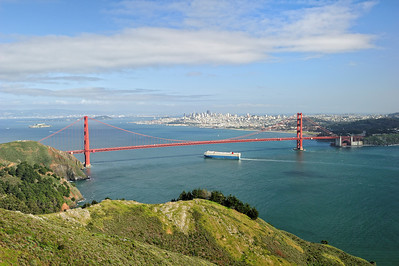 San Francisco from Marin Highlands