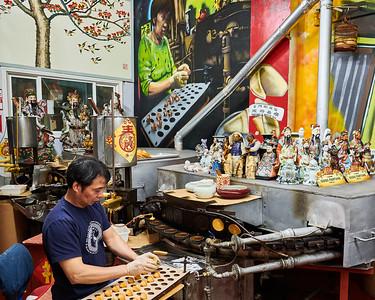 Chinatown - Fortune Cookie Factory