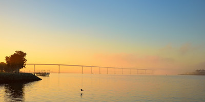Coronado Bridge at Sunrise