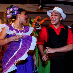Dancers at the El San Juan Hotel