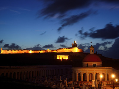 Twilight at El Morro.