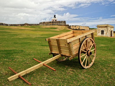 El Morro and wagon