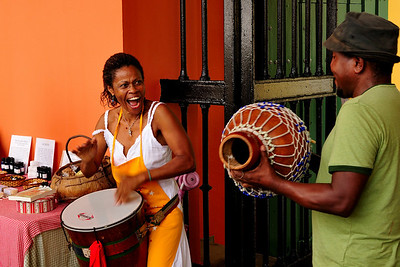 Musicians at the Marketplace, Old Town