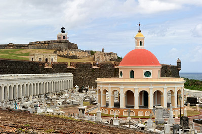 El Morro and cemetary