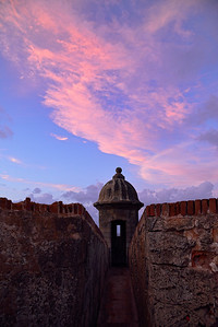Sunset over El Morro