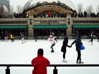 Milenium Park Ice Rink