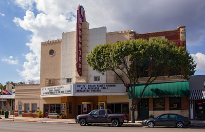 New Branfels' historic mainstreet theatre