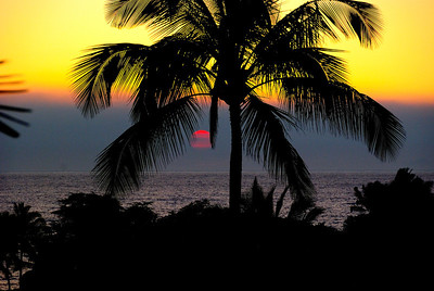Waikoloa Sunset - M