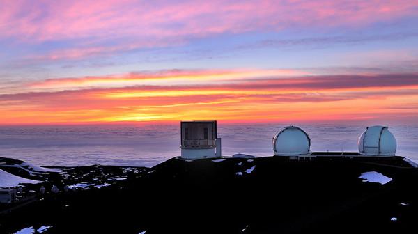 Mauna Kea, observatories