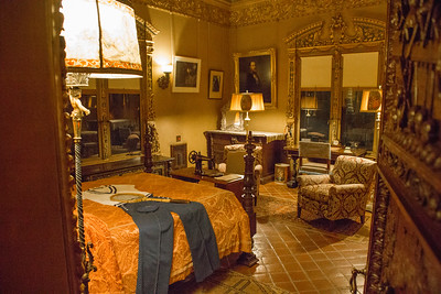 A room in the guest cottage