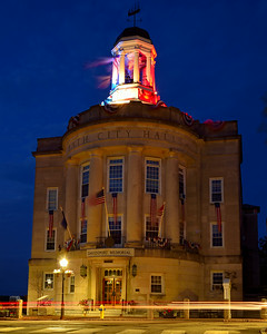 Bath City Hall at Twilight