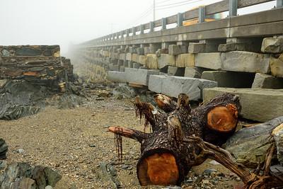 Unique Granite-Block Cribstone Bridge