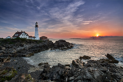 Portland Head Light, Sunrise