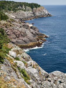 Monhegan Island, Cliffs at Whitehead