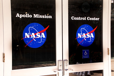 Tour stop included original Mission Control - used up  through Apollo missions