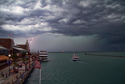 Quit Storm Over Lake Michigan